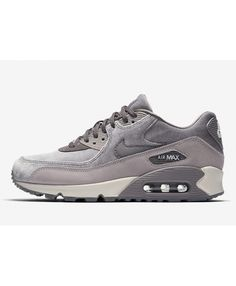 innovative design c8231 0692b Discount Nike Air Max 90 Deluxe Seude Grey Womens Trainers Nike Air Max Grey,  Air