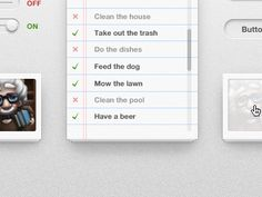 El fondo es justo lo que necesitaba para la app - Dribbble - UI by Matt Gentile