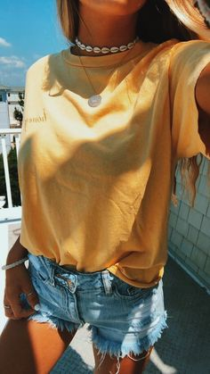 43 Top Summer Outfits — Green and Yellow Make You Cool; summer outfits 43 Top Summer Outfits — Green and Yellow Make You Cool; Teenager Mode, Vetement Fashion, Outfit Trends, Outfit Ideas, Trendy Swimwear, School Looks, Teen Fashion Outfits, Summer Teen Fashion, Fashion Ideas