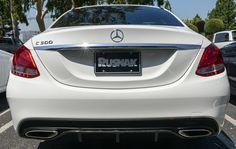 Carbon Fiber Rear Diffuser Mercedes Benz W205 C300 C350 Sport