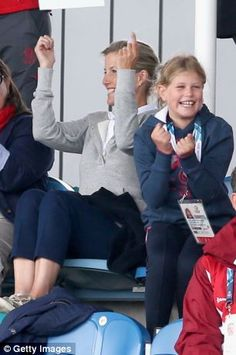 dailymail:  The Countess of Wessex and daughter Lady Louise Windsor attended the women's field hockey prelims between England and Malaysia, Day 4 of the Commonwealth Games, Glasgow, Scotland, July 27, 2014