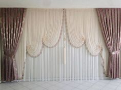 Curtain types - interesting houses Curtain types – interesting houses the on the Tulle Curtains, Elegant Curtains, Modern Curtains, Patterned Curtains, Types Of Curtains, Curtains With Blinds, Curtain Types, Curtain Patterns, Curtain Designs