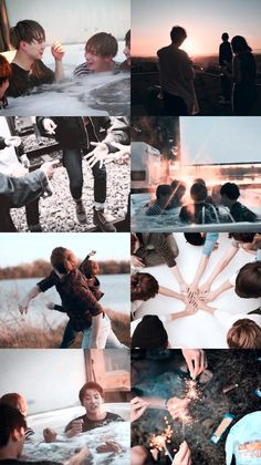 """I will be the light by your side. The ground under your feet"" No one loves BTS more than BTS ❤ Like/reblog if you save"