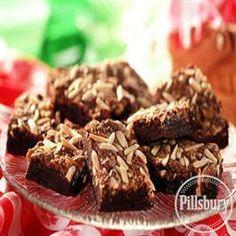 Almond Toffee #Brownies from Pillsbury® Baking