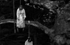 scary my gif gif tree Black and White creepy horror dark hanged harper's island