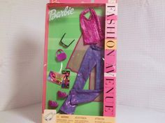 2002 Mattel Barbie Doll Fashion Avenue OutfitStill in Unopened Package #Mattel