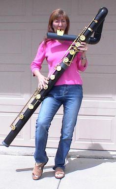 contrabass flute! Woah!