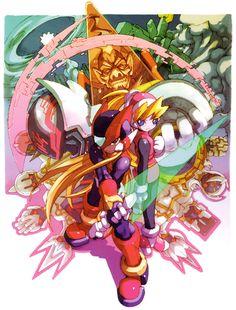 Promotional Artwork - Characters & Art - Mega Man Zero 3