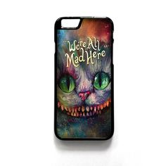 We Are All Mad Here Alice In Wonderland For Iphone 4/4S Iphone 5/5S/5C Iphone 6/6S/6S Plus/6 Plus Phone case ZG