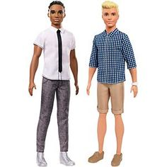Check out the Ken Fashionistas Original Doll 2-Pack Gift Set (FWF33) at the official Barbie website. Explore the world of Fashionistas today!