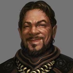 Innkeeper NPC from Might & Magic X Legacy