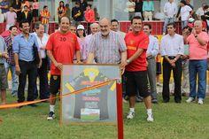 CORTE DE CINTAS EN EMOTIVO ACTO: El Gobernador Colombi dejó oficialmente Inaugurado el estadio de Boca Unidos #VamosParaAdelante