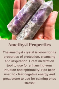 Amethyst Crystal Meaning, Crystal Meanings, Amethyst Stone, Types Of Crystals, Crystals And Gemstones, Stones And Crystals, Shadow Book, Amethyst Healing Properties, Bruges