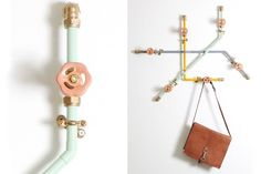 Nick Fraser Creates Fun And Functional Decor From Standard Pipework