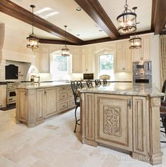Elegant Kitchen With Beautifully Finished Cabinetry | Anything But Plain