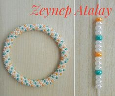 Kum boncuk tığ işi 5 Christmas decoration ideas for your RV Planning to hit the road this Christmas with your family? Surely you would like to add some holiday cheers to your rolling home. Crochet Bracelet Pattern, Crochet Beaded Bracelets, Bead Crochet Patterns, Beaded Bracelets Tutorial, Bead Crochet Rope, Beaded Bracelet Patterns, Beading Patterns, Beaded Crochet, Beads And Wire