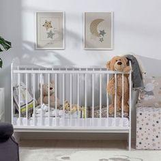 Obraz Little Stars I 30x40cm white  #obraz#hviezda#mesiac#obyvacka#kuchyna#jedalen#detskeizba Cribs, Bed, Furniture, Home Decor, Cots, Decoration Home, Bassinet, Stream Bed, Room Decor