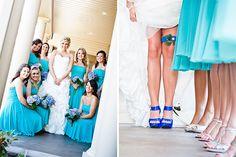 Breana : Clint | Kat Parker Photography | Peacock Bridal Party