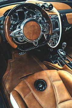 56 Ideas Luxury Cars Interior Pagani Huayra For 2019 Pagani Zonda, Pagani Car, Koenigsegg, Maserati, Bugatti, Ferrari Laferrari, Lamborghini Lamborghini, Sexy Autos, Beige Hose