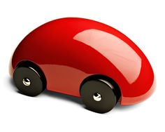 Playsam - Streamliner Classic Car Red - The Streamliner Classic Car has been selected as a Swedish Design Classic by the museum for its inventive style and sleek surface. Swedish Design, Scandinavian Design, High Gloss Paint, Pinewood Derby Cars, Play Vehicles, Wooden Car, Designer Toys, Paint Finishes, Wood Toys