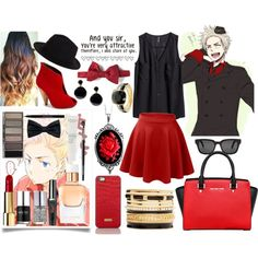 """Hetalia! Denmark❤"" by me0andjustme on Polyvore"