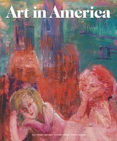 NEW ISSUE ART IN AMERICA FEB 2018 PRINT ARRIVED 12.2.18