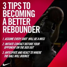 3 Tips to Becoming a Better Rebounder