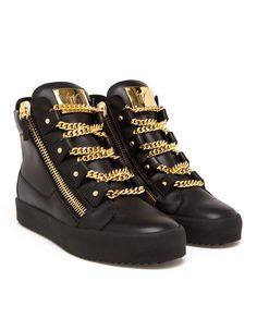 Balenciaga Sneakers Gold