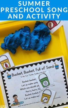 Dig into a great circle time song and activity.