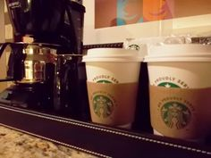 Wakey, wakey. This is what guests that stay with us wake up to. #FourWindsCasino #hotel #Starbucks