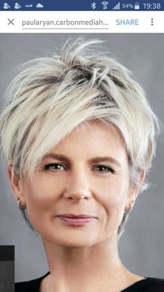 Today we have the most stylish 86 Cute Short Pixie Haircuts. We claim that you have never seen such elegant and eye-catching short hairstyles before. Pixie haircut, of course, offers a lot of options for the hair of the ladies'… Continue Reading → Short Grey Hair, Long Layered Hair, Short Hair Cuts, Latest Short Hairstyles, Cool Hairstyles, Hairstyles With Glasses, Haircut For Thick Hair, Great Hair, Hair Dos