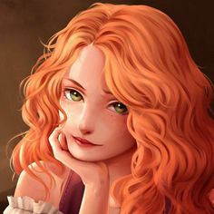 Commission Iris by Lulybot on DeviantArt Red Hair Girl Anime, Girls With Red Hair, Anime Art Girl, Cute Girl Drawing, Cute Drawings, Character Inspiration, Character Art, Art Anime Fille, Redhead Art