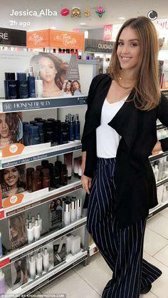Success! Alba has built a billion dollar empire with her nontoxic household…