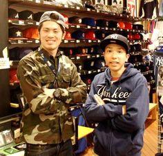 【大阪店】 2013年3月24日 高校生の池田様です!!     ヤンキースのグッズお似合いです!! #mlb