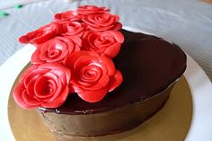 Life is too short, Eat Desserts: Roses Cake