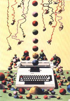 Milton Glaser - Olivetti poster