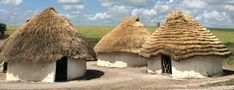Neolithic Houses at Stonehenge   http://blog.english-heritage.org.uk/ask-expert-cavemen-actually-live-caves/