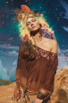 Cosmic Forest Editorials - The Photoshoot by Marcellus Kimontait for Yacamim Magazine is Ethereal (GALLERY)