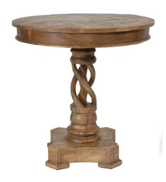 Bengal Manor Mango Wood Twist Accent Table - The Rustic Furniture Store Rustic Furniture Stores, Cheap Furniture, Discount Furniture, Table Furniture, Kitchen Furniture, Furniture Cleaning, Furniture Nyc, Furniture Movers, Furniture Online