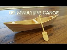 How to Make a Boat with Popsicle Sticks - Handmade - DIY Crafts - Creative with Ice-Cream Sticks - YouTube Popsicle Stick Crafts, Craft Stick Crafts, Diy Crafts For Kids, Wood Crafts, Make A Boat, Build Your Own Boat, Popsicle Stick Boat, Ice Cream Stick Craft, Box Container
