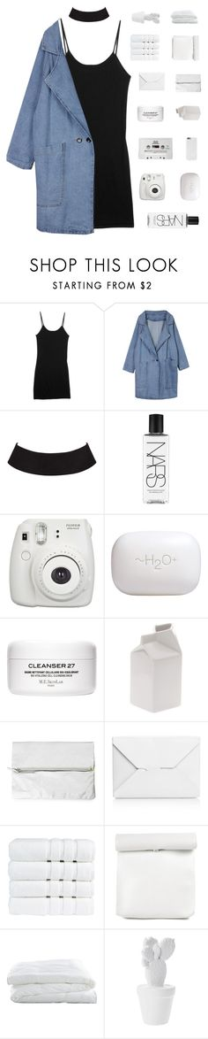 """""""bringing darkness from above ✿"""" by w-anderess ❤ liked on Polyvore featuring rag & bone, NARS Cosmetics, Fujifilm, CASSETTE, H2O+, Seletti, Rut m.fl., J.W. Anderson, Christy and Crate and Barrel"""