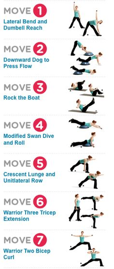 Fat-Burning Yoga Workout: Build muscle, improve flexibility, and melt away stress with this routine that combines yoga and strength training. For more fat burning ideas visit http://weightloss-qm50hycs.canitrustthis.com