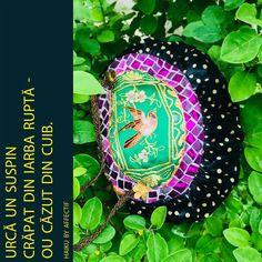 "Geanta mică ""Anatomia perisabilă"" #handbag #handmade #custommade #premium #exclusive"