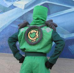 Lego Ninjago Green Ninja inspired costume for by FishbynClothing, $235.00
