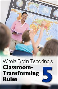 """Halting Back Talkers in Their Tracks! Guest blog post on Corkboard Connections by Chris Biffle, director of Whole Brain Teaching, who explains Rule 5, """"Keep your dear teacher happy."""""""