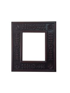 French Decorative Wall Hand Carved Wood Solid  Frame Ornate Hand Painted Finish on Etsy, $875.00