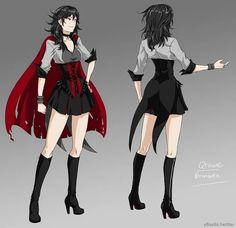 Mostly RWBY art & discussion /w some NSFW content + spoilers (ᅌᴗᅌ* ) - PATREON is where everything. Rwby Fanart, Rwby Genderbend, Rwby Qrow, Rwby Anime, Anime Manga, Anime Art, Rwby Comic, Character Concept, Character Art