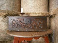 17th century bible box