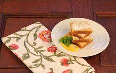 Graham Crusted Lemon Bars~ - That Skinny Chick Can Bake