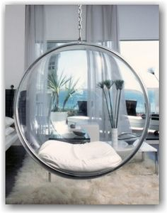 Very modern, to cool Hanging Chair   Bedrooms   Pinterest ...